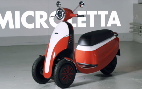 Weitere Ouboter-Mikromobilitäts-Vision: der E-Roller Microletta.