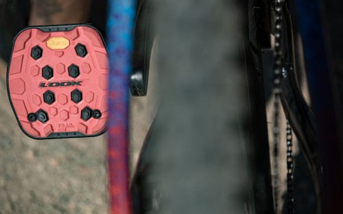 Neu: Look Flat Pedal »Trail Grip«.