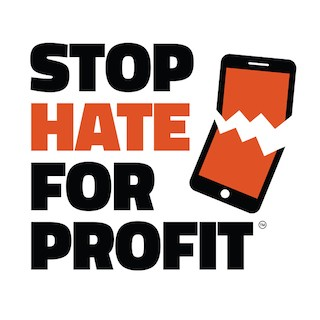 Stop Hate for profit Logo.