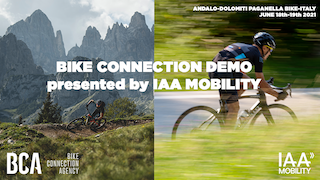 Neu: Bike Connection Demo supported by IAA Mobility.